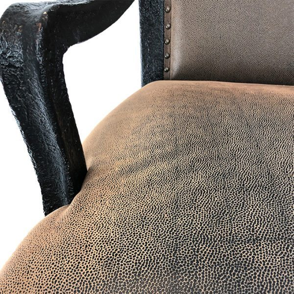 Ultimate Chairs Limited Faux Hide Open Armchair