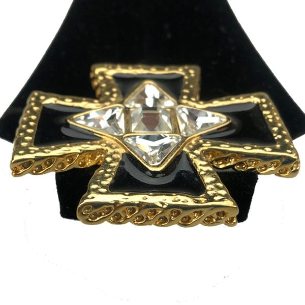 Vintage St. John's Jewelry Maltese Cross
