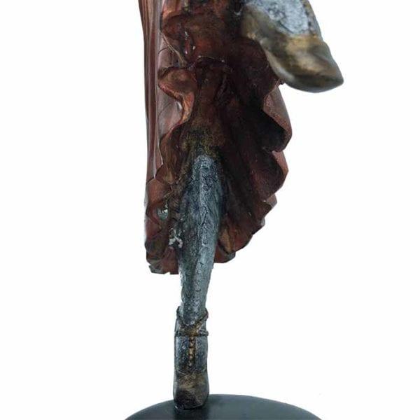Art Deco Style Bronze Dancer Statue