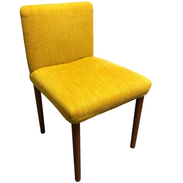 Set of 4 West Elm Upholstered Dining Chairs